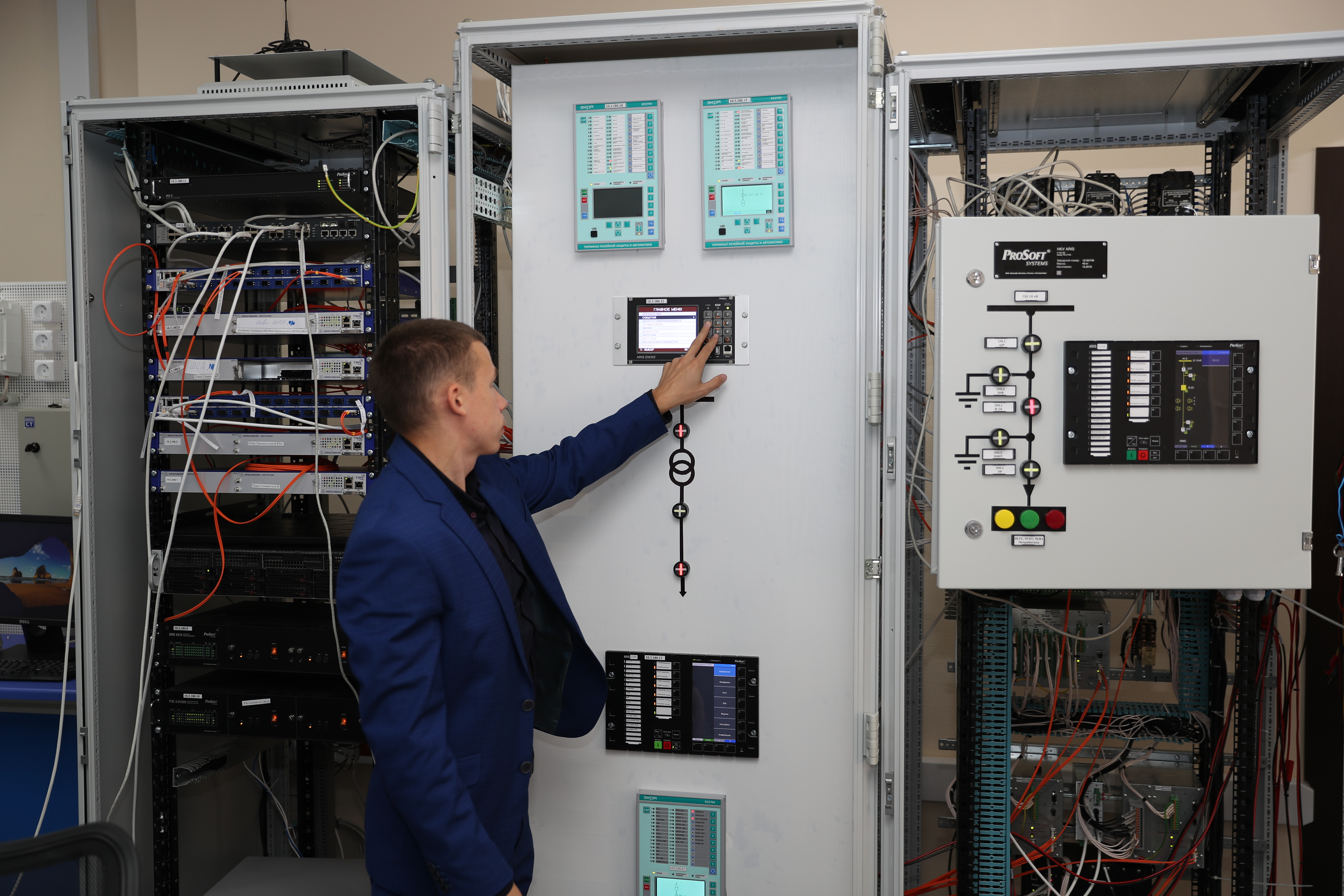 Digital Substation Model Based on Prosoft-Systems Solutions Undergoing Testing in Tatarstan