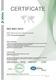 Сертификат соответствия СМК требованиям ISO 9001:2015.  Компания ООО «Прософт-Системы» (на английском языке)