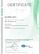 Сертификат соответствия СМК требованиям ISO 9001:2015. Компания ООО «Прософт- Биометрикс» (на английском языке)