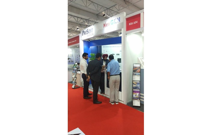 """Prosoft-Systems took part in the biggest energy exhibition in India """"Elecrama-2018"""", Greater Noida"""