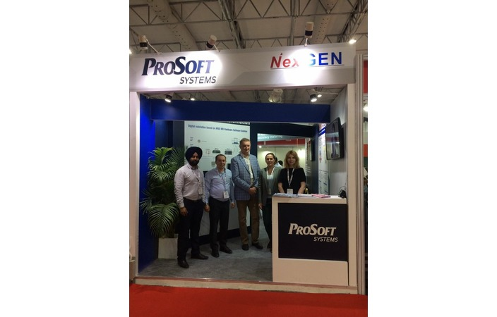 "Prosoft-Systems took part in the biggest energy exhibition in India ""Elecrama-2018"", Greater Noida"