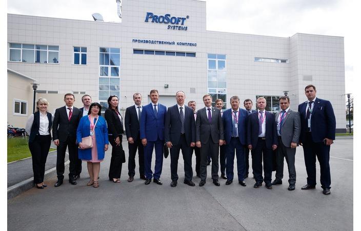 Министр промышленности Татарстана посетил производство компании «Прософт-Системы»